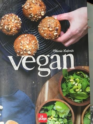 le livre de marie Laforet est la bible du vegan.